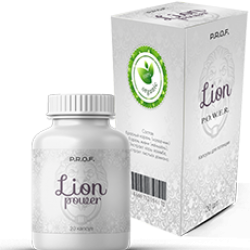 Prof Lion Power - капсулы для потенции